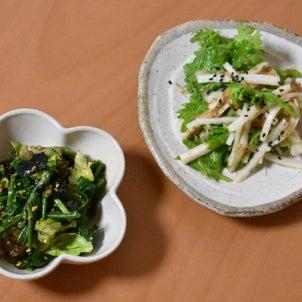 焼肉にはこれ~♪お野菜もりもり食べられる簡単レシピ2品ご紹介♡の画像