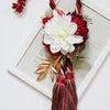 【オンラインフラワーレッスンご案内】タッセルの大人可愛いお正月飾り♪の画像