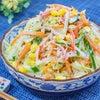 子どもがもりもり食べる♪白菜の彩りコールスローサラダ♡の画像