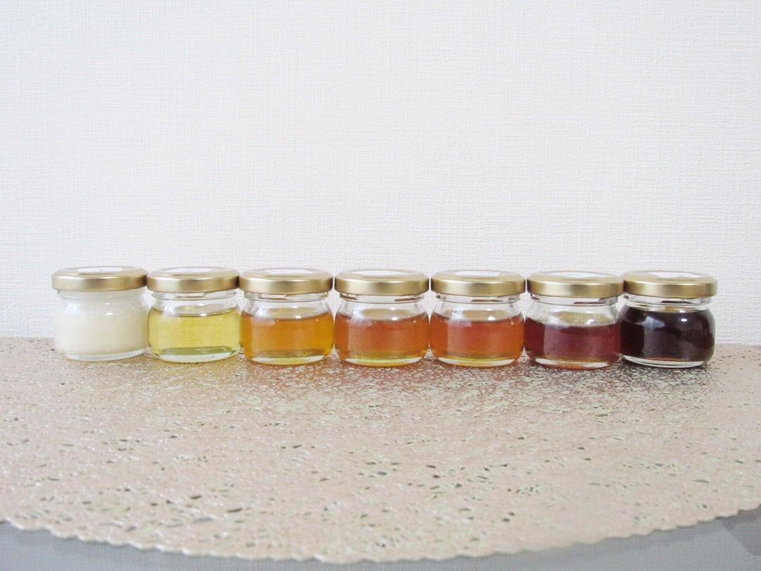 蜂蜜の色とエネルギーと