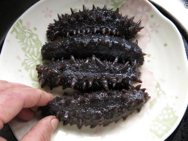 料理 ナマコ 干しナマコの醤油煮が出来るまで(デジタルリマスター版) ::