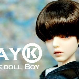 アップルドールシリーズの男児「ケイ」君の画像