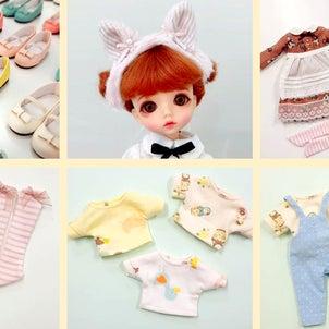 人形衣装の新製品販売準備中です。の画像