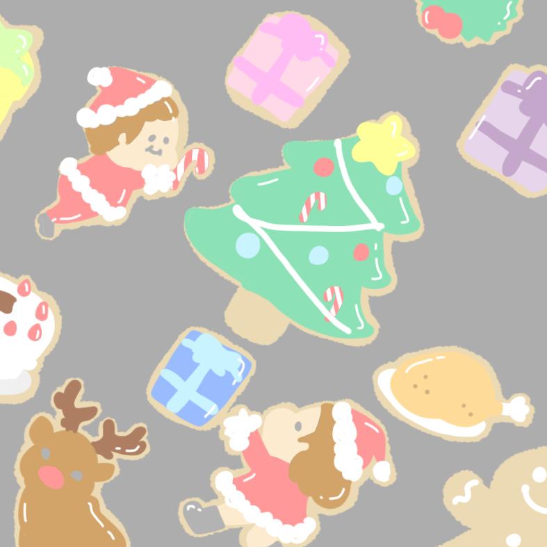 この時期無性に作りたくなるクッキー(イラスト)