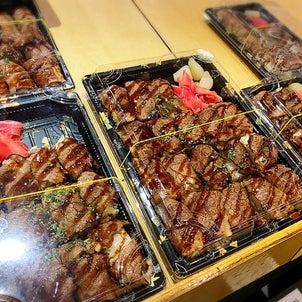 デパ地下で買った韓牛の炙り肉寿司が美味しすぎる。。【真心火寿司】の画像