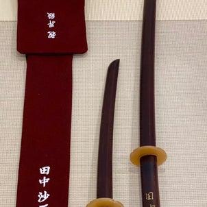 黒檀の木刀の画像