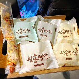ここのクリームチーズお餅パンが美味しい!店舗続々増えてる。(サムソンパンチッ)の画像