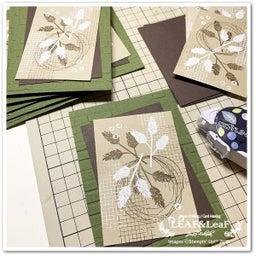 画像 【コツコツと】今月のプレゼント、新カタログ&手作りカードを着々と発送しています! の記事より 1つ目