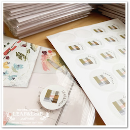画像 【コツコツと】今月のプレゼント、新カタログ&手作りカードを着々と発送しています! の記事より 4つ目