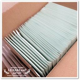 画像 【コツコツと】今月のプレゼント、新カタログ&手作りカードを着々と発送しています! の記事より 5つ目