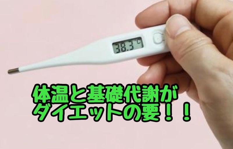 代謝 体温 基礎