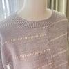 機械編みのセーターが完成しました❣️の画像