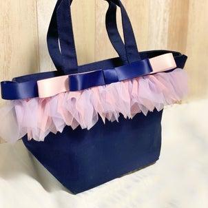 チュールレースバッグ by ribbonage_artの画像