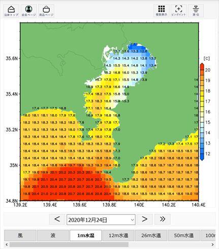 水温 東京 湾 東京湾は水温高めのまま2020年へ。釣り物も後ろ倒しになりそう・・・