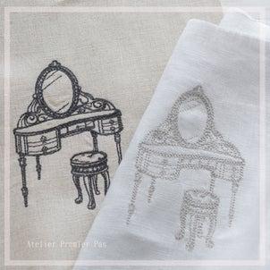 【刺繍生地の販売準備】新しいモチーフを販売します♡その1の画像