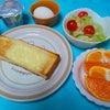 「紅まどんな」が、朝食に登場しました〜の画像