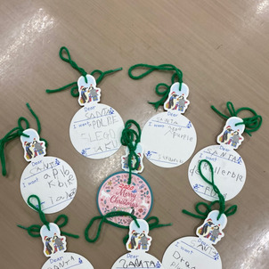 【クリスマスUnicorn Class】サンタさんの手紙も自分で書けるよ!の画像