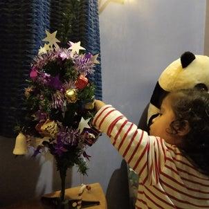 1歳のクリスマスの画像
