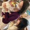 赤ちゃんとご対面の画像