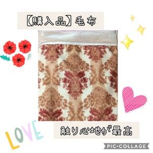 【購入品】触り心地が最高な毛布♥の画像