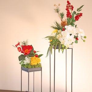 お正月のお花の画像