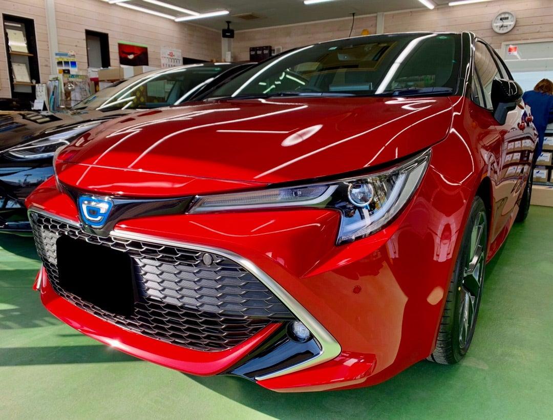 トヨタ カローラスポーツ 新車 ハイモースコート ザ・ネオ施工
