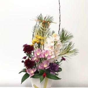 お正月飾りアレンジメントの画像