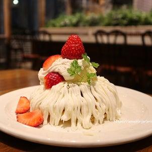ホワイトチョコとチーズクリームのパンケーキ♡j.s. pancake cafeの画像
