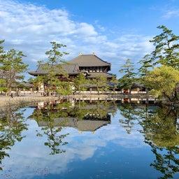 画像 鏡池に映る大仏殿が素晴らしい ~まほろばの国~奈良探訪記 12 の記事より 1つ目