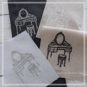 【刺繍生地の販売準備】新しいモチーフを販売します♡その2の画像