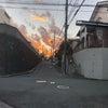 東京1300人越え 富士山には警戒レベルの真っ赤になった。の画像
