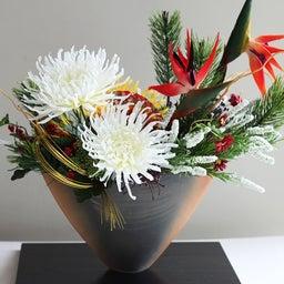 画像 【お正月のお花】サイアム和装さんへ❀新年から飾れる和風のアレンジメント❀ の記事より 2つ目