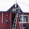 薪ストーブの煙突取り付けの動画 前半の画像
