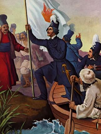 ギリシア独立戦争を開始したギリシア人