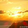 初日の出 新春万福 黄金の光 2021 岡田和樹の画像