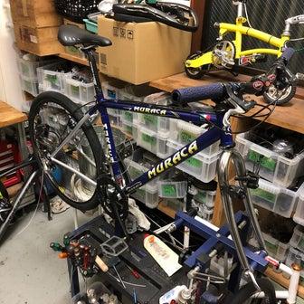 正月休み最終日の自転車ワーク