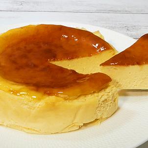世界で一番簡単なボトム無しニューヨークチーズケーキの画像