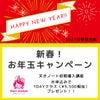 【本日締切】新春!お年玉キャンペーン企画の画像