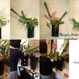 画像 ゴージャスなお花を飾って迎えるお正月~草月流いけばなレッスン の記事より 1つ目