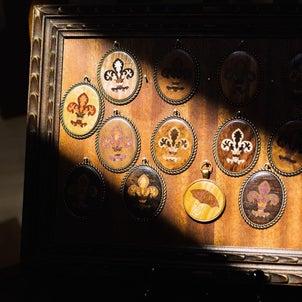 木象嵌細工の画像