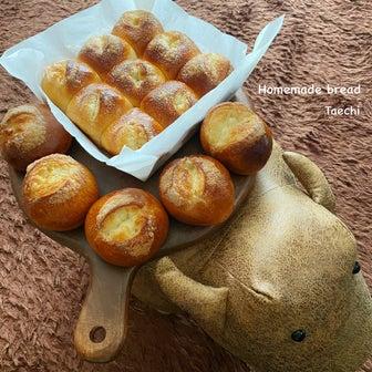 おうちパン作り始めませんか?シュガートップちぎりパン