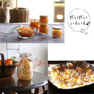 酸っぱい柑橘ダイダイを美味しくいただくの画像