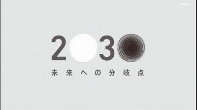 スペシャル 2030 nhk