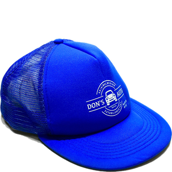 USA古着ブルー青キャップ帽子@古着屋カチカチ