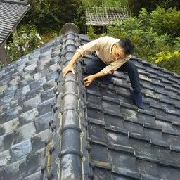 画像 ピンポーン! 屋根の漆喰が傷んでます!! の記事より