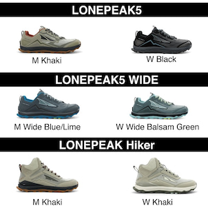 LONE PEAK5、WIDE、Hikerの回収に関するご案内の画像