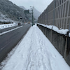 go to五島 43日前 まさかの雪上ランニングの画像