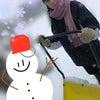 雪かきだぞ。がぉー(加々谷日彩)の画像