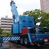 (再編集)超大型550t吊りクレーンを使用した樹木移植作業の画像