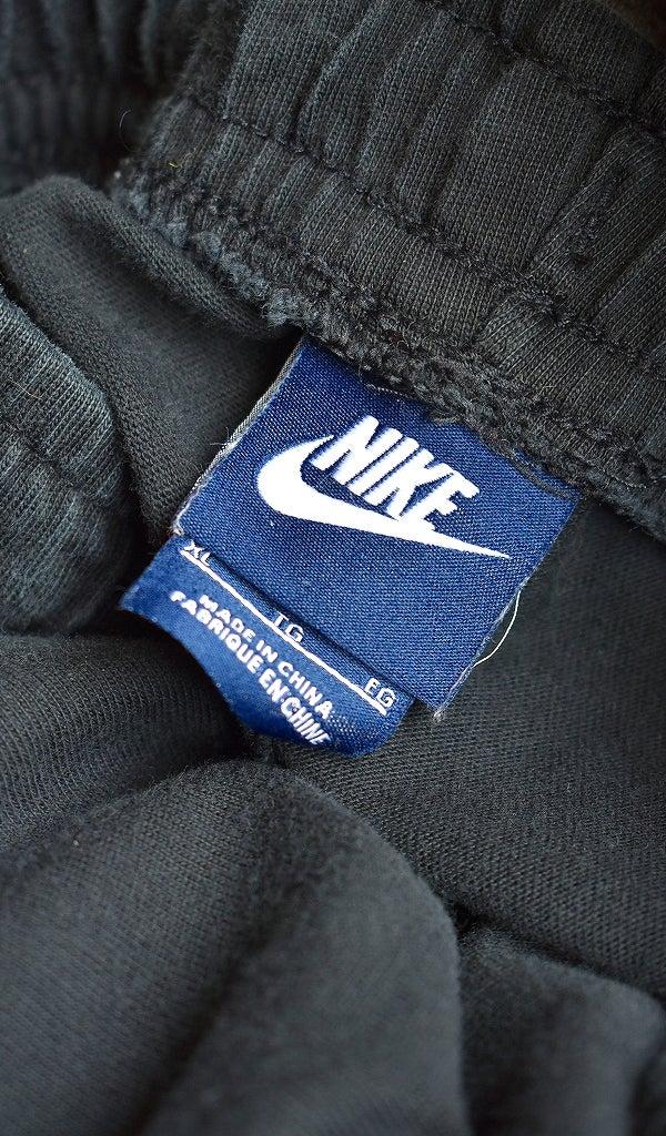 黒ナイキNIKEスウェットパンツ古着屋カチカチ